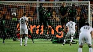 Mahrez free-kick - Algeria vs Nigeria