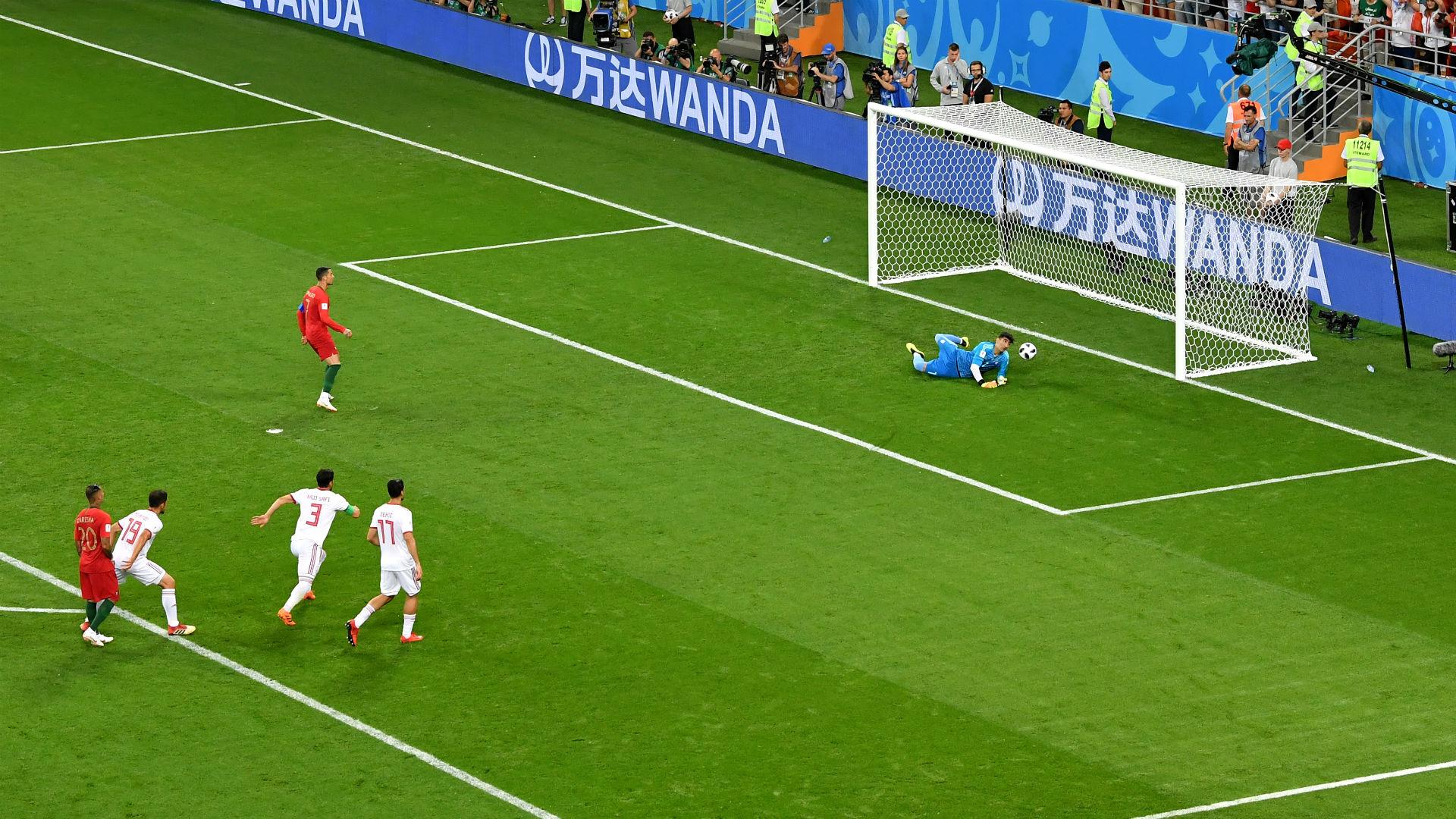 Cristiano Ronaldo penalti Irã Portugal Copa do Mundo 25 06 2018