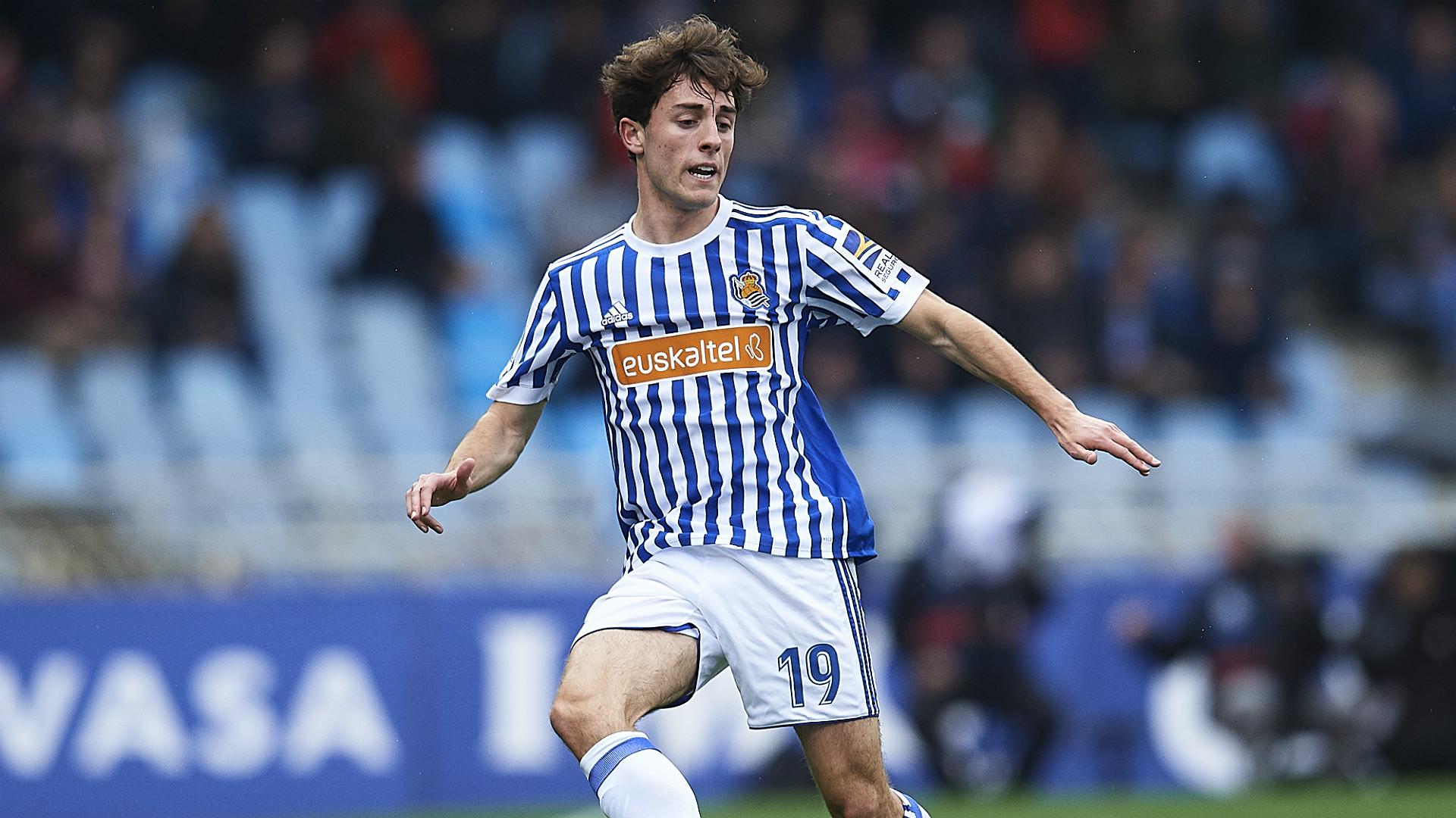 Alvaro Odriozola Real Sociedad