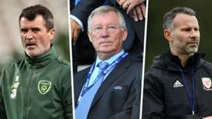 Alex Ferguson, Roy Keane, Ryan Giggs