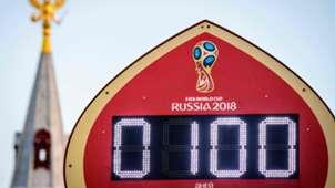 Relogio Copa do Mundo 2018
