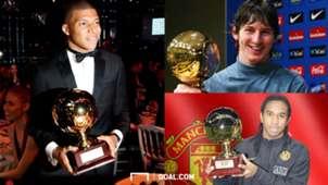 Lionel Messi Anderson Kylian Mbappe Golden Boy
