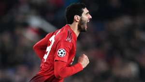 Marouane Fellaini Manchester United Young Boys Champions League 27112018