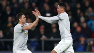 Chris Smalling Nemanja Matic Manchester United Crystal Palace Premier League