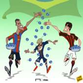 Cartoon Neymar