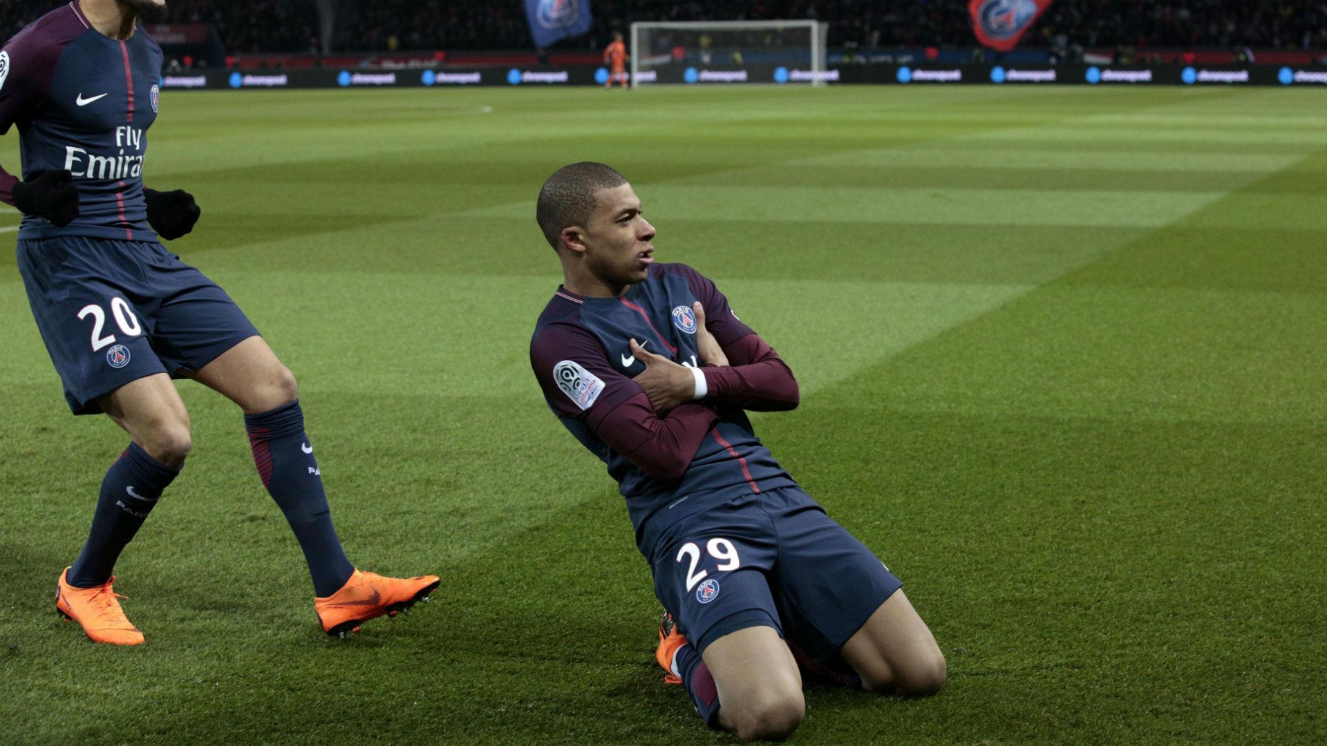 Kylian Mbappé PSG OM Ligue 1 25022018