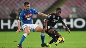 Hamed Traorè Fabian Ruiz Napoli Empoli Serie A