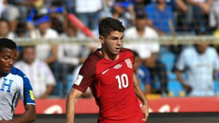 Christian Pulisic USA Honduras