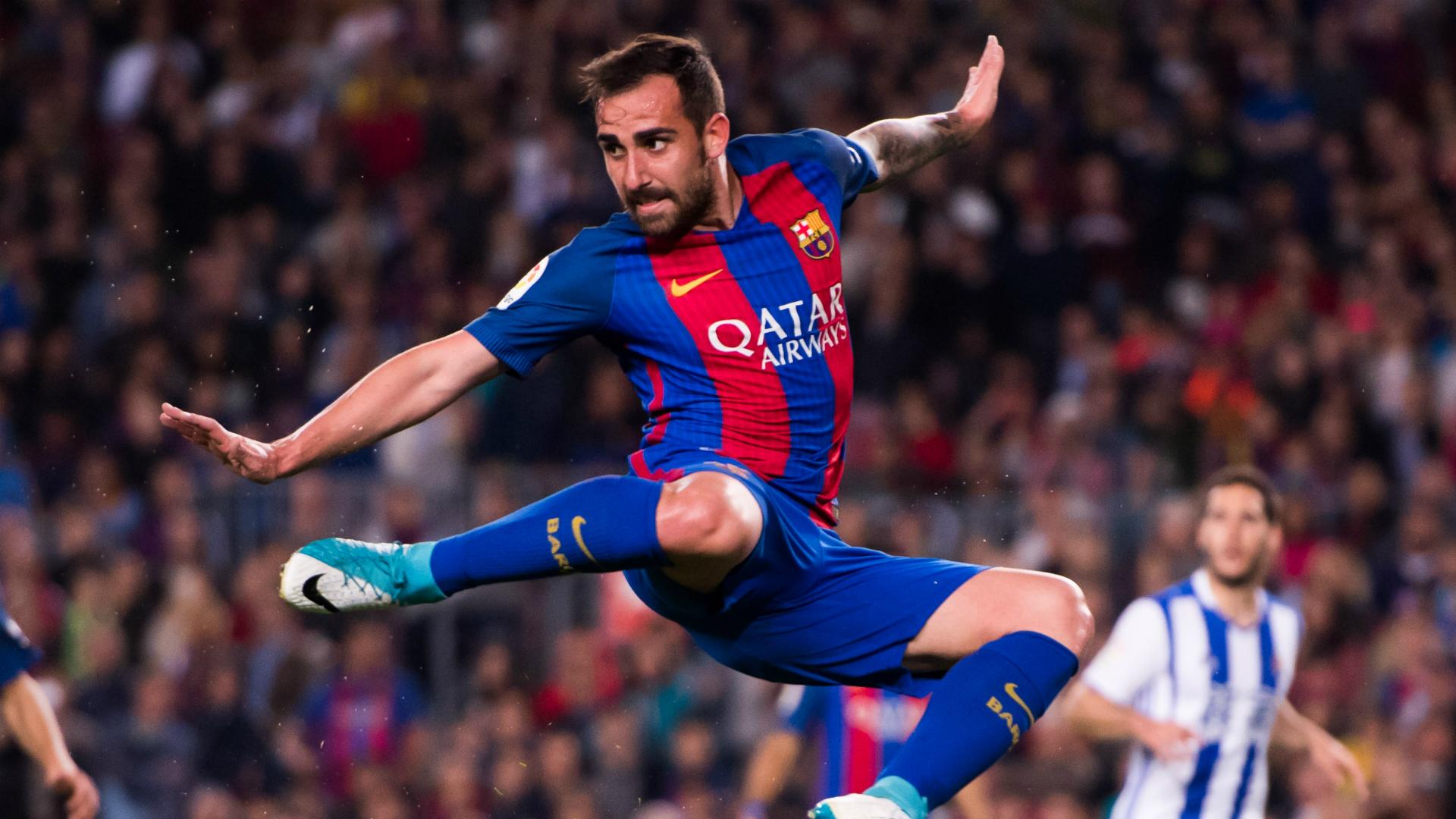 Paco Alcacer Barcelona Real Sociedad La Liga