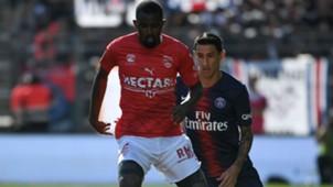 Loick Landre Angel Di Maria Nimes PSG Ligue 1 01092018