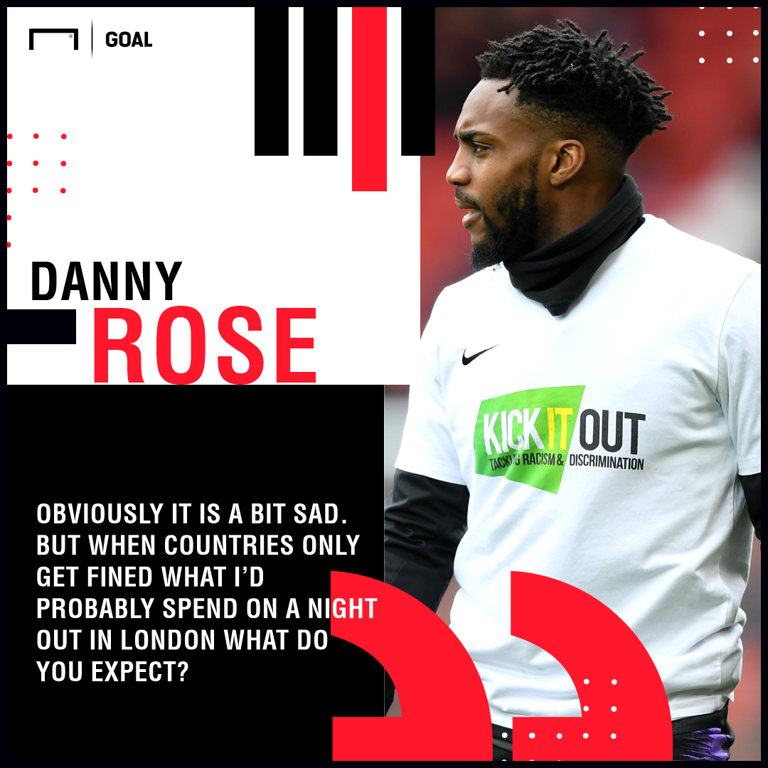 GFX Danny Rose on racism
