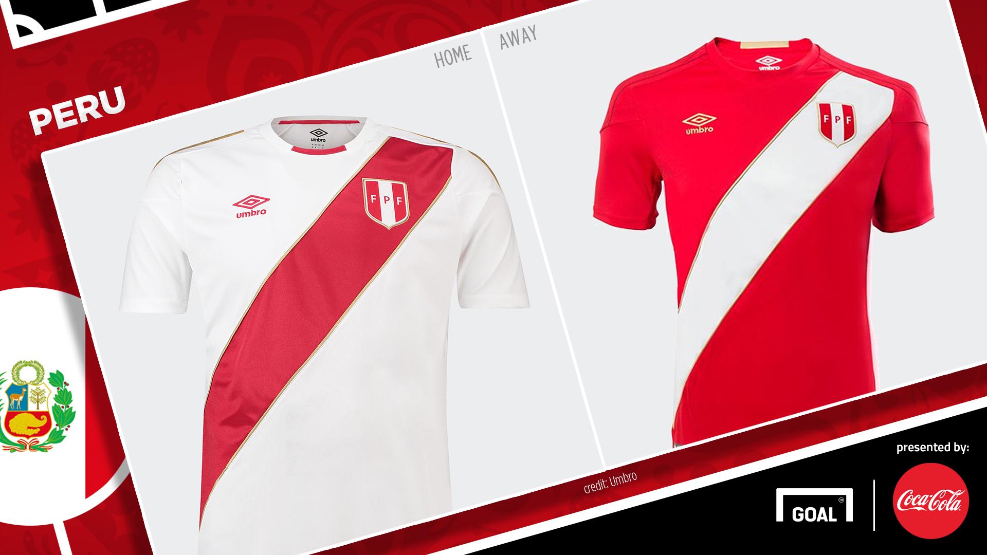 Coca-Cola Jersey Piala Dunia 2018 - Peru