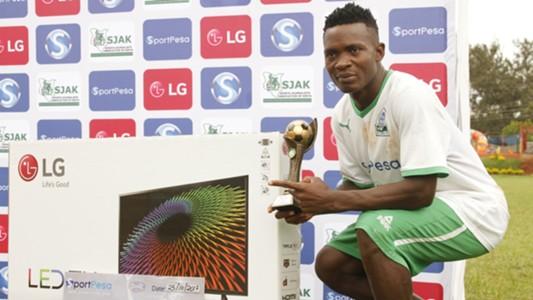 Gor Mahia midfielder George Odhiambo