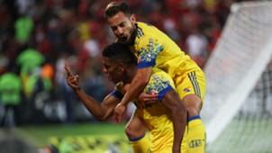 Berrío Éverton Ribeiro Flamengo Coritiba Brasileirão 22 07 2017