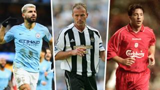 Premier League hat-trick scorers Aguero Shearer Fowler