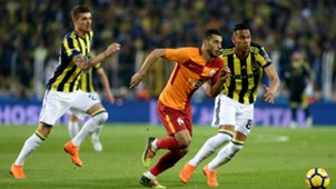 Younes Belhanda Josef de Souza Fenerbahce Galatasaray 03172018