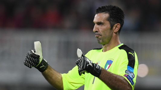 Gianluigi Buffon Italia World Cup 2018