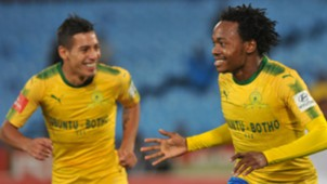 Gaston Sirino and Percy Tau