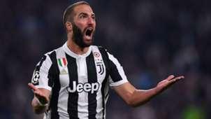 Gonzalo Higuain Juventus Olympiacos Champions League