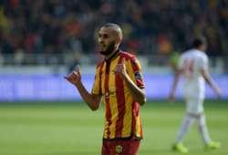 Khalid Boutaib Goal Celebration Yeni Malatyaspor Antalyaspor Turkish Super League 12/16/18