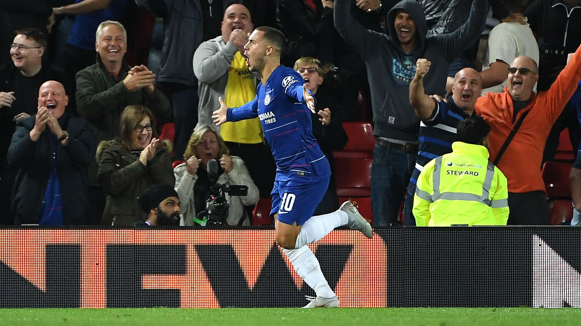 'N'Golo Kante was scared' - Eden Hazard's hilarious reason for scoring victor