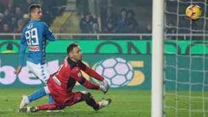 Arkadiusz Milik Berisha Atalanta Napoli Serie A