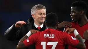 Ole Gunnar Solskjaer Paul Pogba Cardiff vs Manchester United Premier League 2018-19