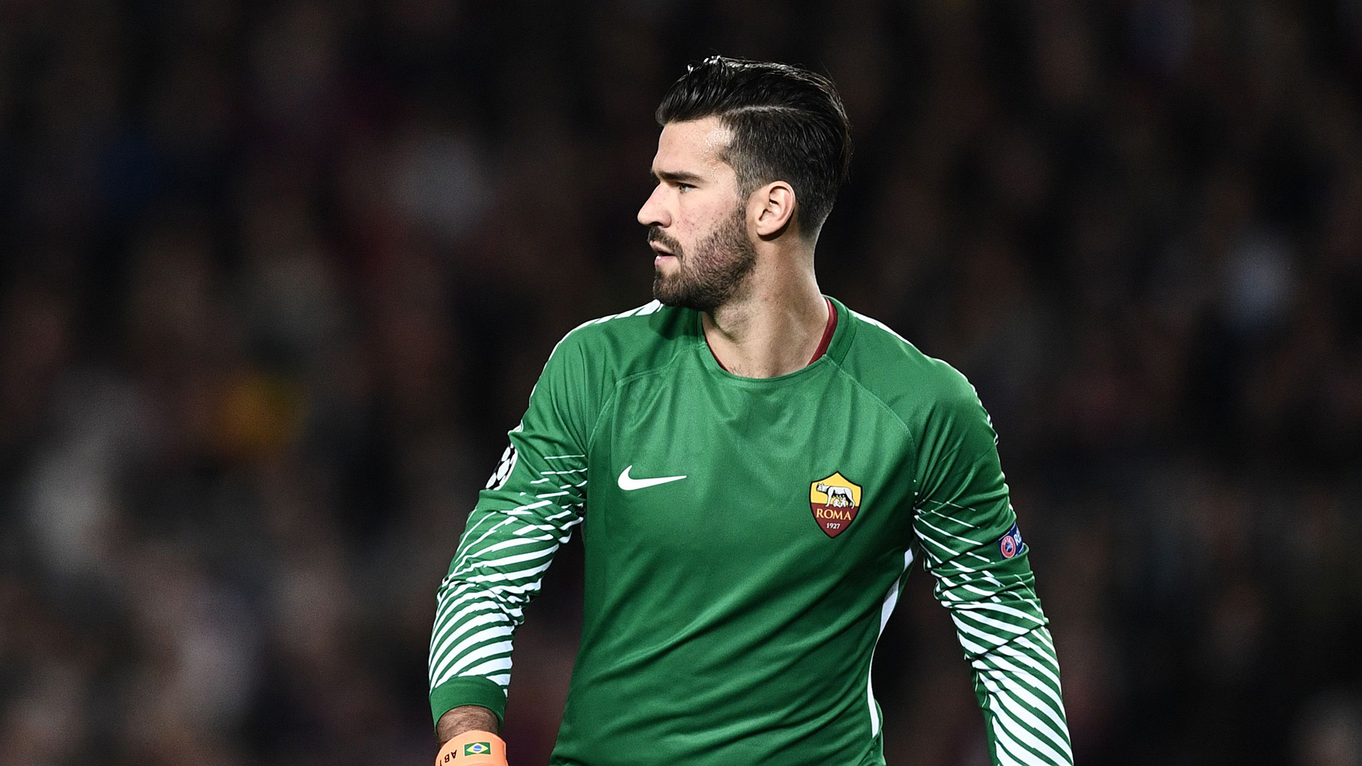 Alisson Barcelona Roma 04042018 Champions League QF