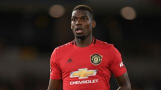 Pogba Wolves Manchester United 2019-20