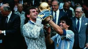Pumpido Maradona Copa del Mundo 1986