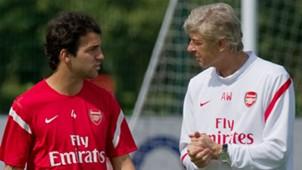 Cesc Fabregas Arsene Wenger