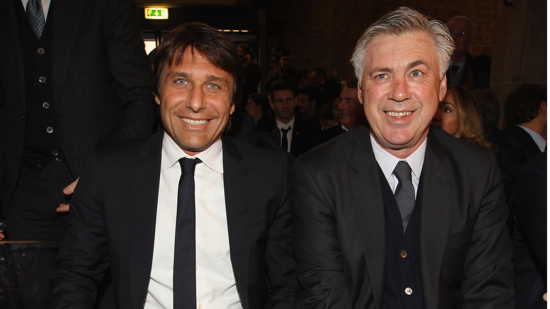 Carlo Ancelotti and Antonio Conte