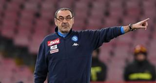 Maurizio Sarri Napoli Udinese Coppa Italia