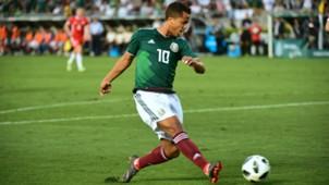 Giovani dos Santos Selección mexicana 290518