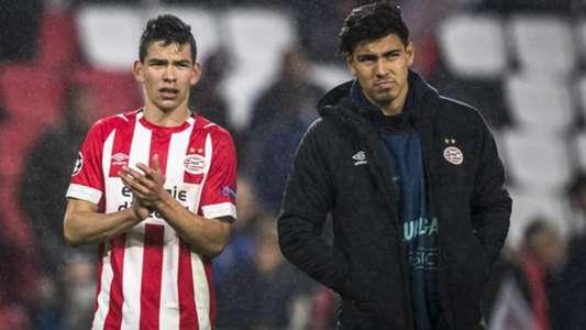 Hirving Lozano Erick Gutierrez PSV 10242018