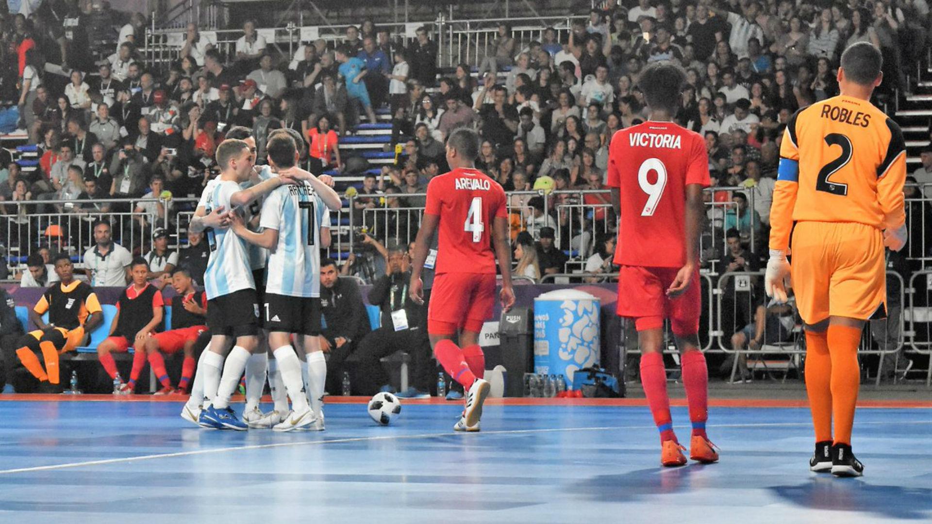 Argentina Panama Futsal Juegos Olimpicos de la Juventud 2018