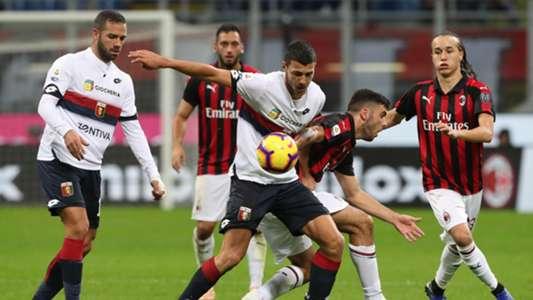 Luca Mazzitelli Milan Genoa Serie A