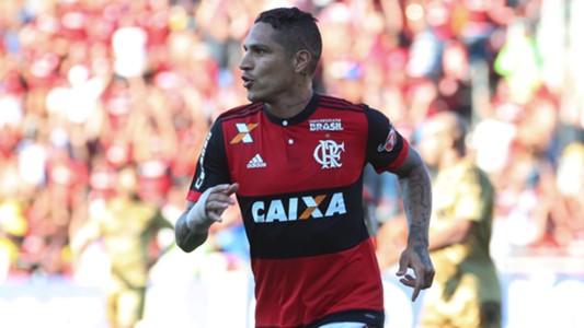 Paolo Guerrero Flamengo Sport Brasileirao 08122017