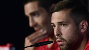 Jordi Alba Spain press conference Euro 2016