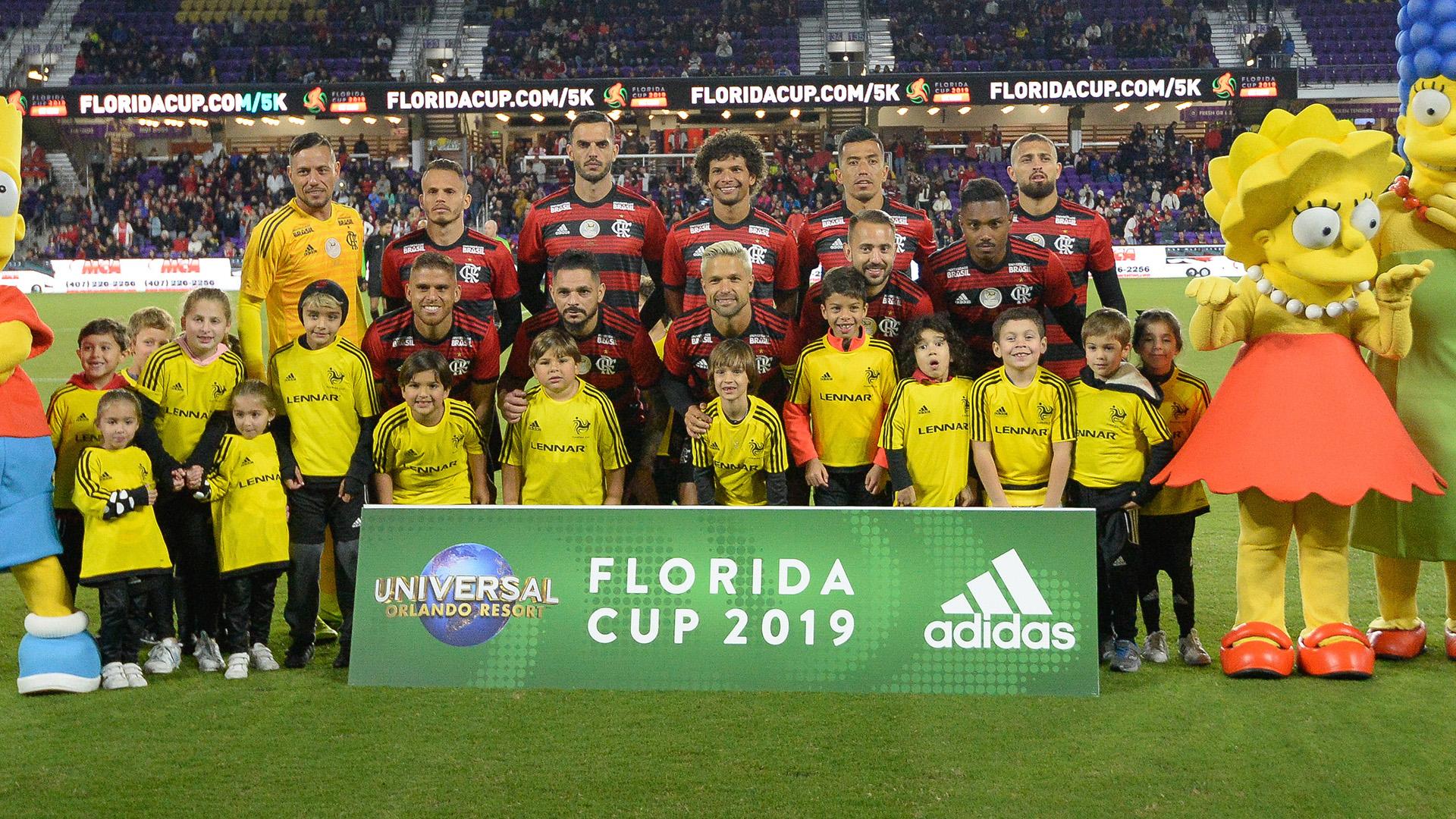 Flamengo Ajax Florida Cup 10012019