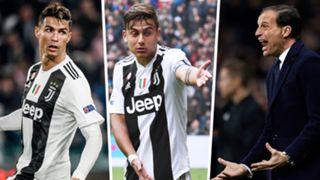 Cristiano Ronaldo Paulo Dybala Max Allegri Juventus