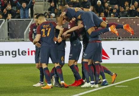 Cavani und Di Maria schießen PSG zum Titel