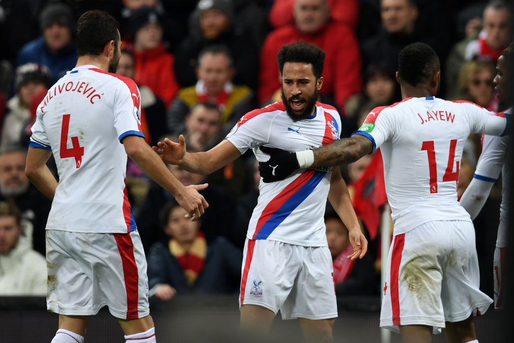 Andros Townsend Liverpool vs Crystal Palace EPL 190119