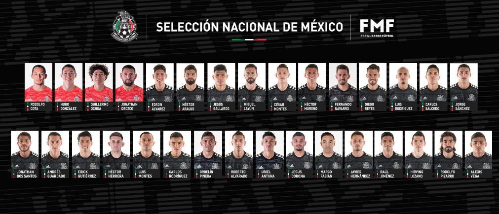 Convocados México