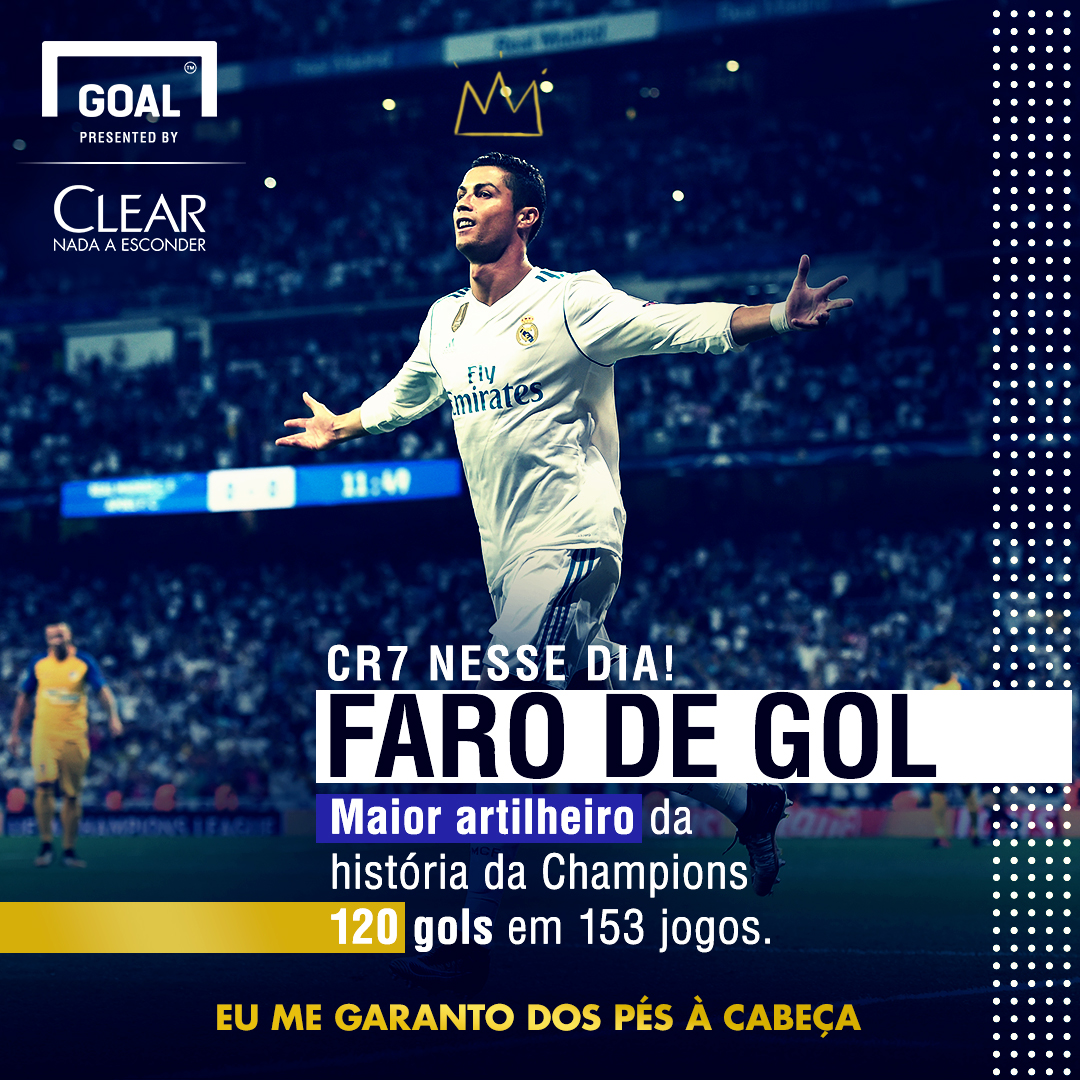 info clear corrigido Cristiano Ronaldo / Real Madrid /2017