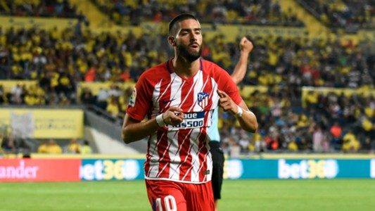 Yannick Carrasco Las Palmas Atletico Madrid 26/08/2017