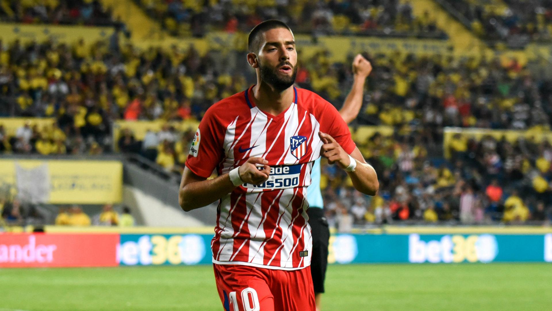 Yannick Carrasco Las Palmas Atletico Madrid 26/08/2017