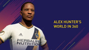 FIFA 18 Alex Hunter Journey Mode 360