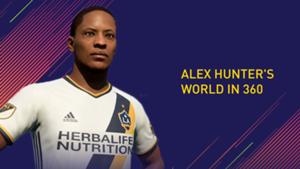 FIFA 18 Alex Hunter Journey Mode 360
