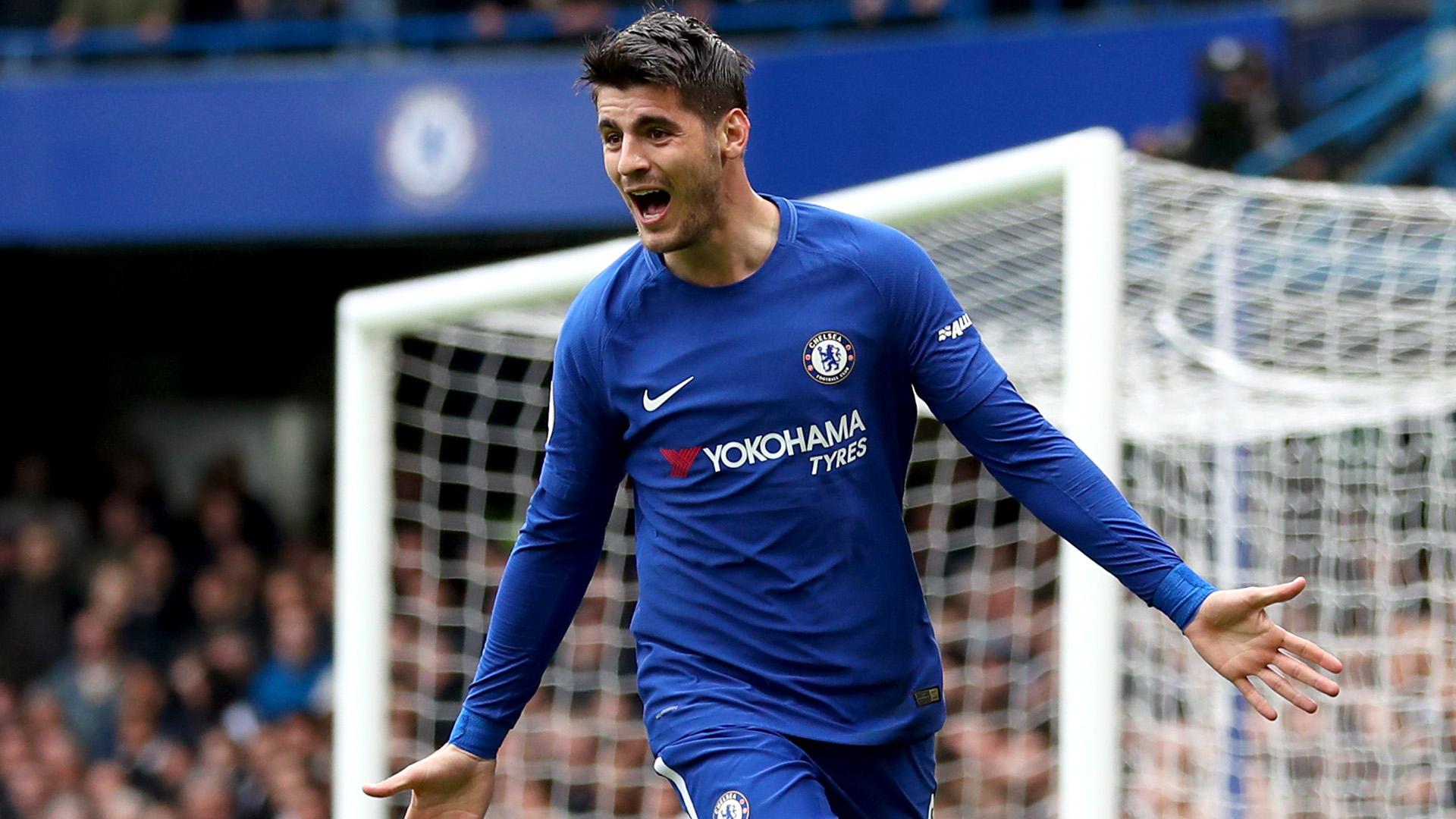 Alvaro Morata FC Chelsea 08042018